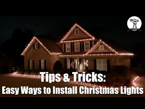 🎅🏻 Part 1: Installing Christmas Lights on Your Roof Line And House