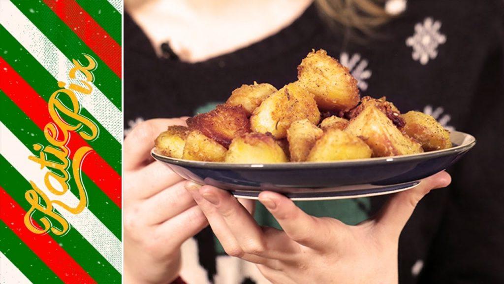 Perfect Roast Potatoes for Christmas Recipe | Katie Pix