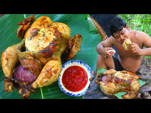 Prepare Christmas Turkey Chicken Roasted Recipe – Cooking Turkey Chicken Special Christmas Holiday