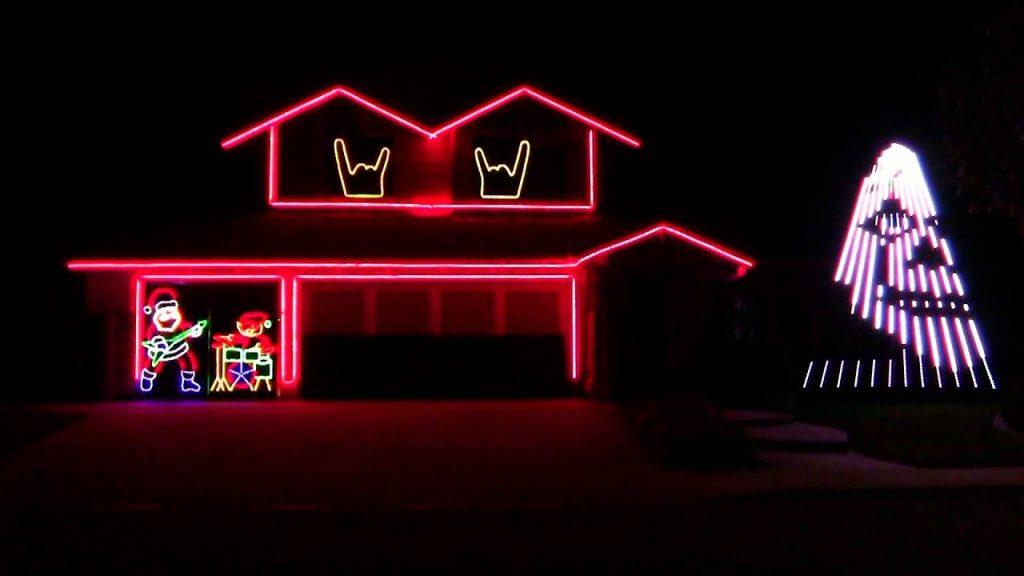 SLIPKNOT CHRISTMAS LIGHTS 2015