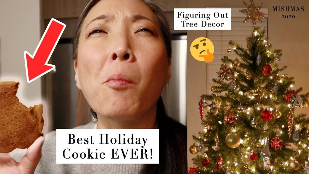 The BEST Holiday Cookie Recipe and Christmas Tree Decorating #mishmas2020