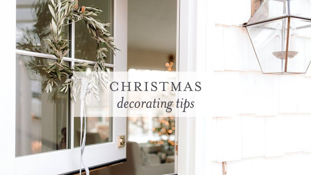 Tips for Christmas Decorating