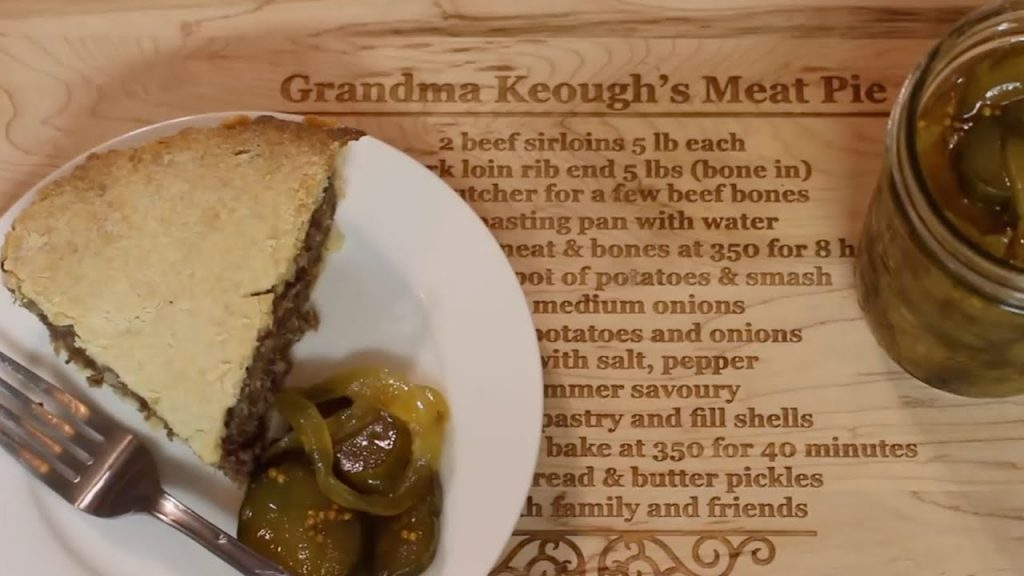 Traditional Acadian Tourtière Christmas Meat Pie Recipe | Learn How To Make CANADIAN MEAT PIE!