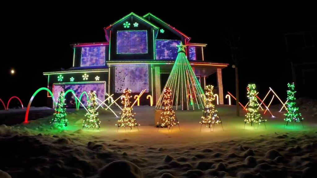 Trista Lights 2016 Christmas Light Show – Featured on ABC's The Great Christmas Light Fight