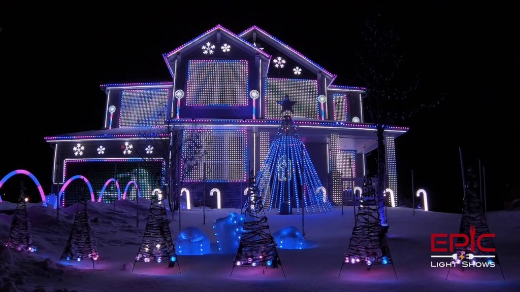 Trista Lights – Little Drummer Boy for KING & COUNTRY 2019 Christmas Light Show