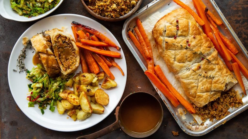 Vegan Wellington | VEGETARIAN VEGAN CHRISTMAS RECIPE